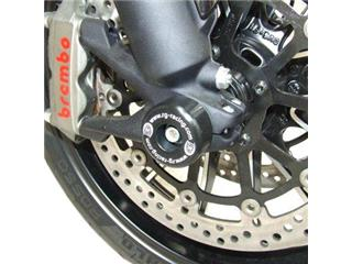 Protection de fourche R&G RACING noir Ducati