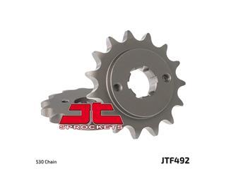 JT SPROCKETS Front Sprocket 14 Teeth Steel Standard 530 Pitch Type 492