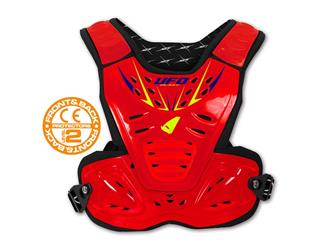 UFO Reactor 2 Evolution Chest Protector Black/Red Kids