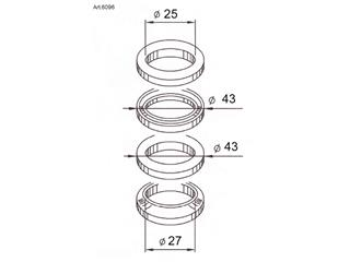 BUZETTI Steering Shaft Bearings