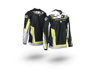 S3 Racing Team Jersey Yellow/Black Size XL