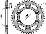 Kettenrad Stahl 45 Zähne PBR 696 MONSTER