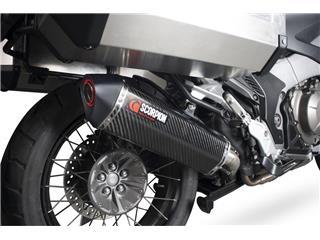 Schalldämpfer rechts Scorpion Serket Edelstahl gebürstet  Honda 1200 Crosstourer - ab6d6d52-6ebe-4a27-9624-97c32a187da8