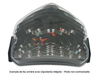 Feu arrière BIHR LED avec clignotants intégrés Suzuki BANDIT 650/1250