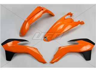 UFO Plastic Kit 14 OEM Color Orange/Black KTM