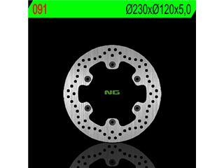 Disque de frein NG 091 rond fixe - 350091