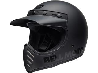 Casque BELL Moto-3 Classic Matte/Gloss Blackout taille XS