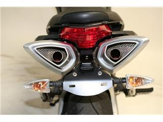 Support de plaque R&G RACING noir Aprilia Shiver 750