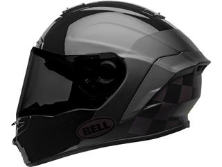 BELL Star DLX Mips Helm Lux Checkers Matte/Gloss Black/Root Beer Maat M - acac2135-1cd9-4238-99fa-c7166fa28ca5