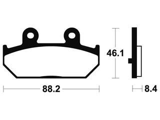 TECNIUM Bremsbelage MSS304 sintermetall - acbd3592-42dd-49e2-a219-3b00945f1586