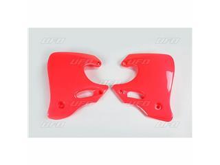 Ouïes de radiateur UFO rouge Honda CR125R/250R - 78133232