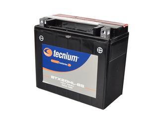 Batterie TECNIUM BTX20HL-BS sans entretien livrée avec pack acide - 329815
