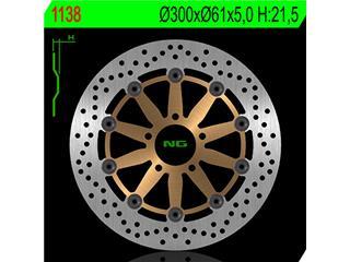 Disque de frein NG 1138 rond semi-flottant - 3501138