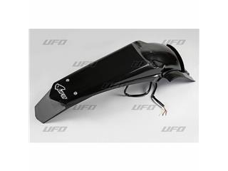 Garde-boue arrière + support de plaque avec LED UFO noir Yamaha WR450F