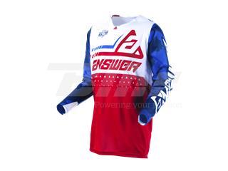T-shirt ANSWER Elite Discord Vermelha/Branca Tamanho XXL - ad36534e-74a3-499a-ad2e-d541ad226c29