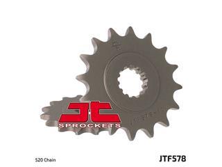 JT SPROCKETS Front Sprocket 16 Teeth Steel Standard 520 Pitch Type 578