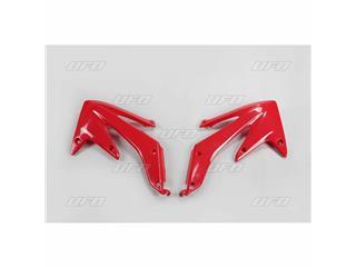 Ouïes de radiateur UFO rouge Honda CRF450R