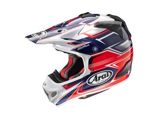 Casque ARAI MX-V Sly Red taille S - 43101812S