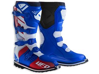 UFO Avior Boots Blue/White/Red Size 44