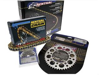 RENTHAL Chain Kit 520 type R3-2 13/51 (Ultralight™ Self-Cleaning Rear Sprocket) Honda CRF450X - 481340