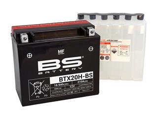 BS BATTERY Batterien BTX20H-BS wartungsfrei mit säurepack geliefert