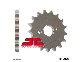 JT SPROCKETS Front Sprocket 15 Teeth Steel Standard 428 Pitch Type 264