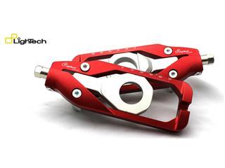 Tendeur de chaine LIGHTECH rouge Triumph Daytona 675 - TETR002ROS - 44361303