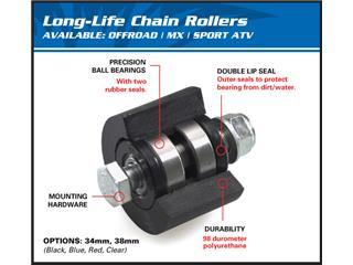 Roulette de chaine supérieur/inférieur ALL BALLS noir - ae8395f1-372e-4f80-b4dc-2b9e478f4109