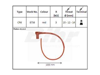 Cable NGK CR6 - ae98c1f2-bf17-42d2-94a6-cdc2986e51fa