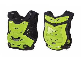 POLISPORT Chest Protector Phantom Lite Neon Yellow One Size Adult