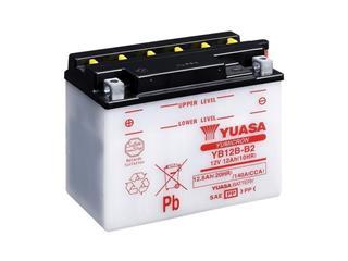 Batterie YUASA YB12B-B2 conventionnelle