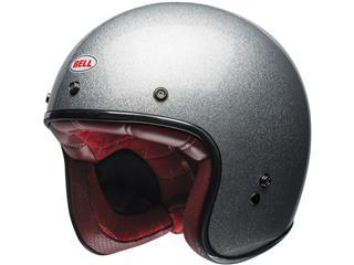 BELL Helm Custom 500 DLX Gloss Silver Flake Größe S