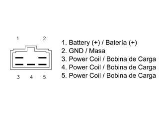 Régulateur TECNIUM type origine Suzuki - aef23020-8ffe-44fb-a629-3a1e2e69ad7e