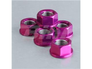 Tuerca de corona 10mm x 1,25 (6 pack) Aluminio violeta Pro-Bolt SPN10P