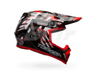 CASCO BELL MX-9 MIPS EQUIPPED TAGGER DOUBLE TROUBLE NEGRO/ROJO 62-63 / TALLA XXL