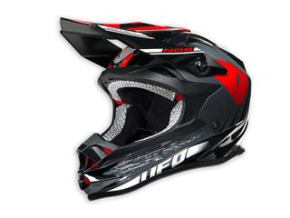 UFO Onyx Helmet NOS Black/White/Red Size S