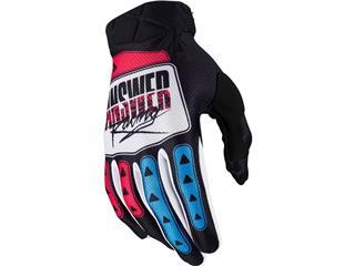 Gants ANSWER AR3 Pro Glow Hyper Blue/Pink/Black taille L