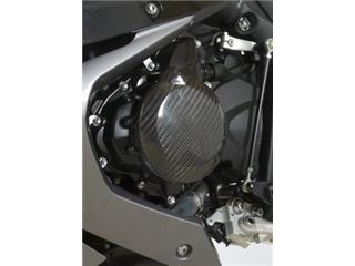 Slider moteur gauche R&G RACING carbone Triumph