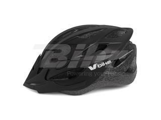 Capacete V Bike MTB/Road 20 aberturas de ventilação pretotamanho M (55-58cm)