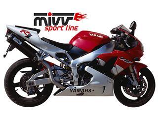 Silencieux MIVV Oval Classic carbone Yamaha YZF-R1  - MVAY001L3