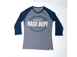 T-shirt RST Original 1988 gris/bleu taille S femme - 825000250768