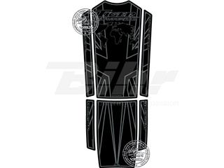 Protector de depósito Motografix TIGER1200 Explorer negro/gris