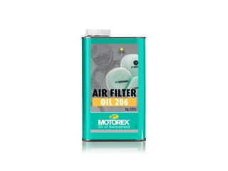 Huile filtre à air MOTOREX Air Filter Oil 206 1L