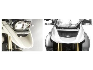Protection de radiateur (huile) R&G RACING noir Ducati Streetfighter/S / BMW R1200GS/Adventure