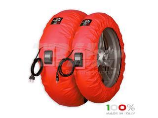 Calentadores CAPIT Suprema Vision Color rojo (17'' - Del.120/Tra.200/55)
