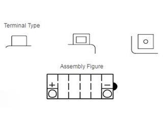 Batterie YUASA YB12B-B2 conventionnelle - b035b00f-1e03-40b5-83ea-8e7cdd771bae