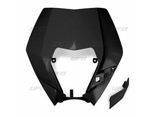 Plaque numéro frontale UFO KTM noir - 78698620