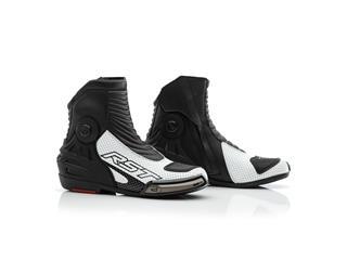 RST Tractech Evo III Short CE Boots White Size 42 - b0611855-2362-4e8a-b6b3-33a923ce4ffd