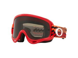 Masque OAKLEY O Frame MX Braking Bumps Red/Orange écran Dark Grey