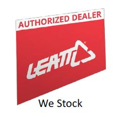 "Autocollant LEATT 3DF 5.0 ""Authorized Dealer"" anglais 25x13cm"